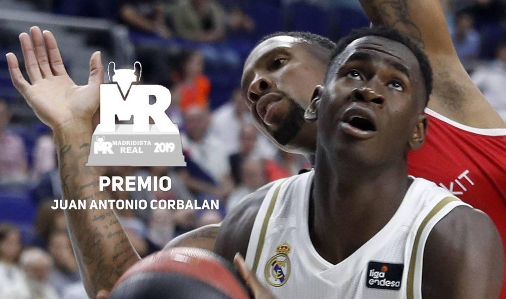 premio corbalán 2019 usman garuba premios madridistareal