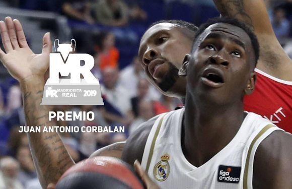 Premio Corbalán 2019   Nominado: Usman Garuba