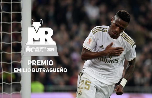 Premio Butragueño 2019 | Nominado: Vinícius Jr