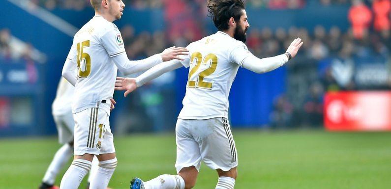 Calificaciones Blancas | C.A. Osasuna 1-4  Real Madrid