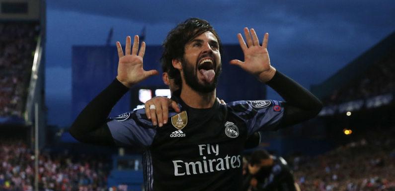 Los mejores momentos de Isco con el Real Madrid