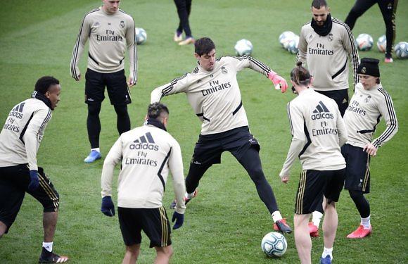 Posible Alineación del Real Madrid en El Clásico