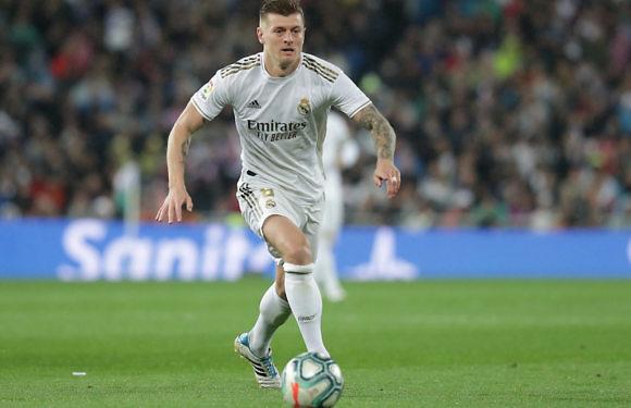 Posible Alineación del Real Madrid ante el Betis