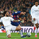 messi marcelo liga fc barcelona real madrid el clasico