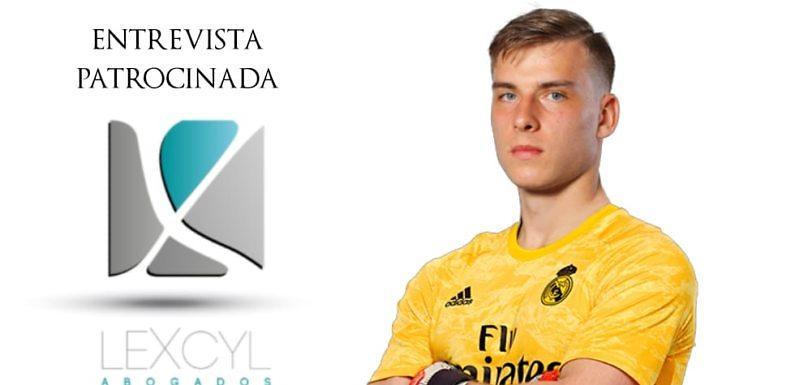 Entrevista | Lunin: «Quiero competir por el número 1 del Madrid»