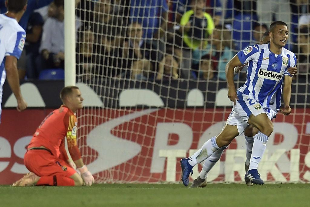 óscar rodríguez gol leganés fc barcelona