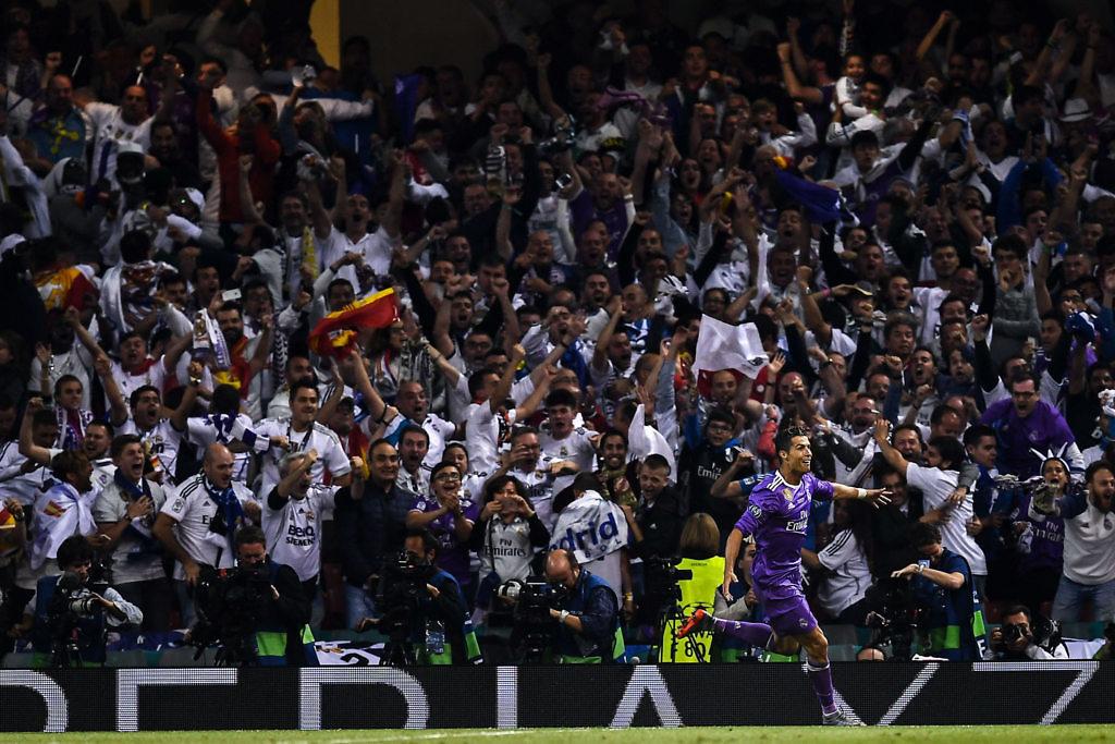 cristiano ronaldo final champions real madrid juventus