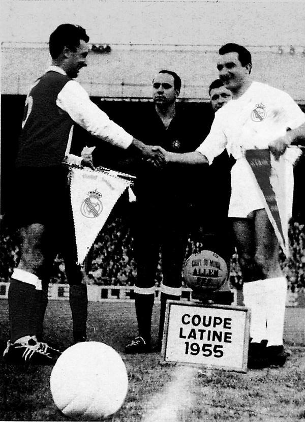 copa latina 1955 real madrid