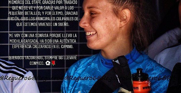 Mercado de fichajes | Ana Valles deja sitio en la portería del CD Tacon