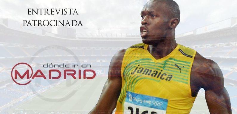 Entrevista Usain Bolt: «Entre Cristiano o Messi, elijo a Cristiano»