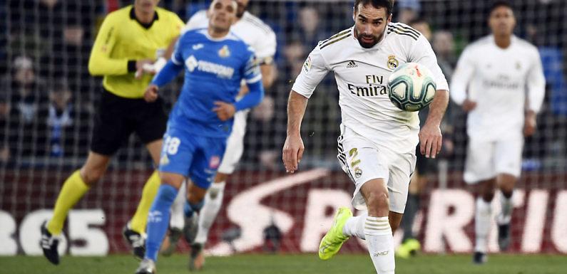 Posible Alineación del Real Madrid frente al Getafe