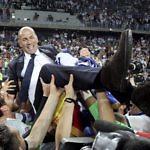zidane celebracion real madrid liga