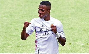 vinicius jr real madrid levante gol