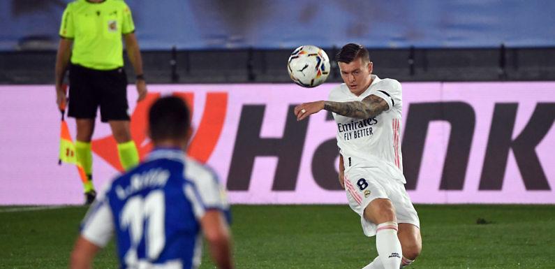 Posible Alineación del Real Madrid frente al Shakhtar