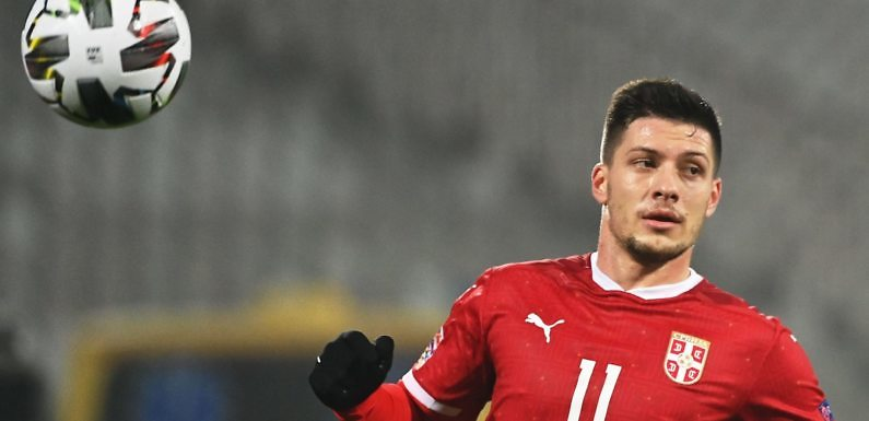 Luka Jovic recupera la sonrisa y el gol con Serbia