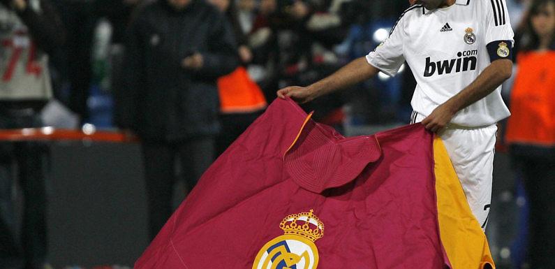El once histórico español del Real Madrid. Por @jmcanasv