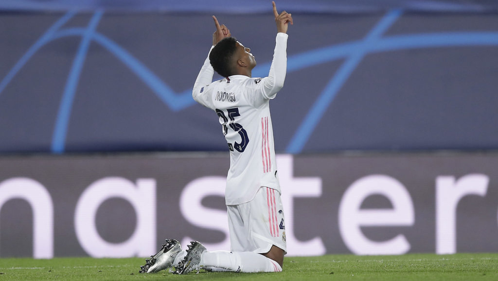 rodrygo goes real madrid inter gol