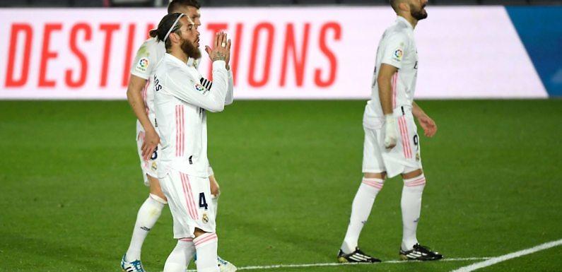 Posible Alineación del Real Madrid frente al Eibar
