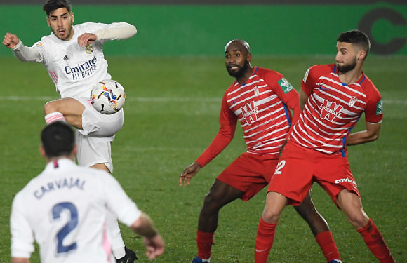 Calificaciones Blancas | Real Madrid  2-0 Granada C.F.