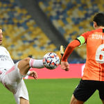 luka modric real madrid shakhtar champions league