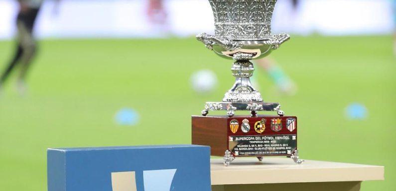 La Supercopa de España se disputará en Andalucía