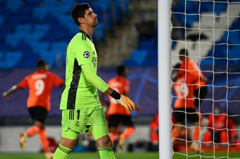 courtois real madrid champions