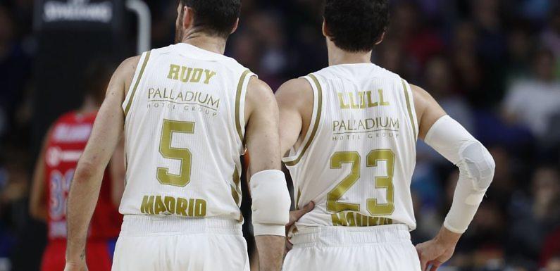 Llull y Rudy Fernández, entre los cuatro mejores triplistas de la Euroliga