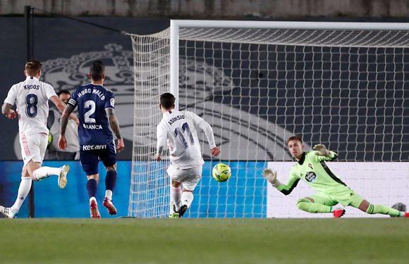 Crónica Real | Un imperial Nacho lidera el triunfo blanco ante el Celta (2-0)