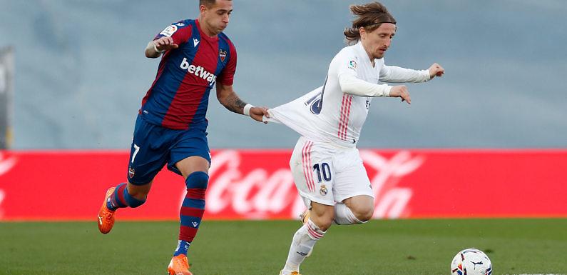 Calificaciones Blancas | Real Madrid 1-2 Levante UD