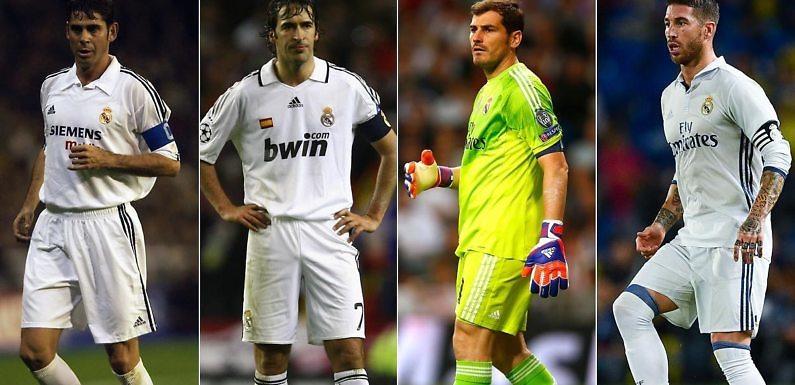 El Mejor Once Histórico Español del Real Madrid