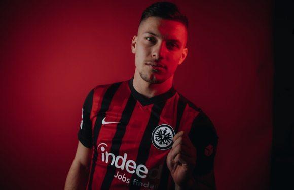 Luka Jovic, al Eintracht de Frankfurt hasta el final de temporada