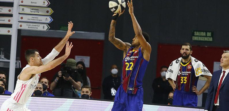 Copa ACB |Las bajas del Madrid y la gran defensa del Barça sentencian la final en la primera parte(73-88)