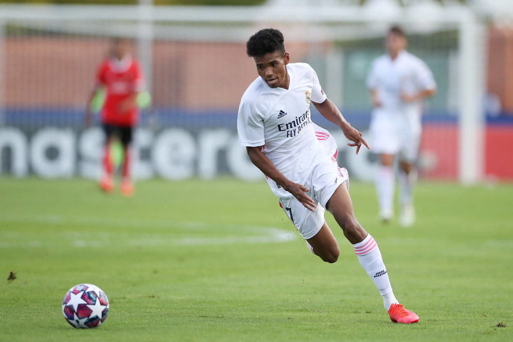 marvin park real madrid youth league 2020