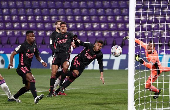 Calificaciones Blancas | Real Valladolid 0-1 Real Madrid