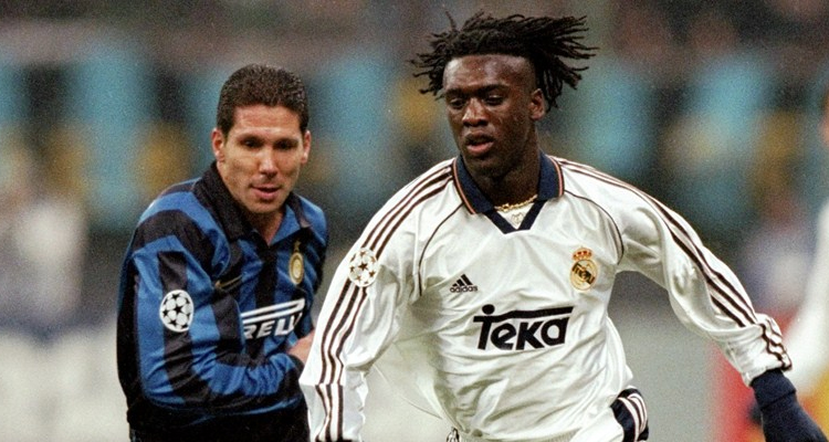 clarence seedorf real madrid simeone inter