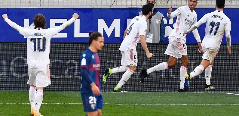 Calificaciones Blancas | SD Huesca 1-2 Real Madrid