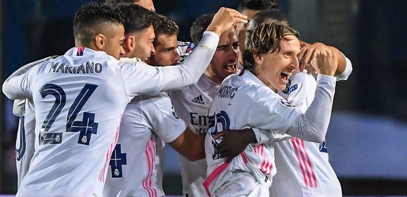 Posible Alineación del Real Madrid frente al Atlético de Madrid