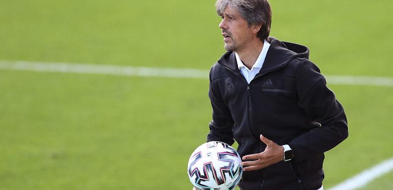 David Aznar, el técnico al frente del Real Madrid Femenino