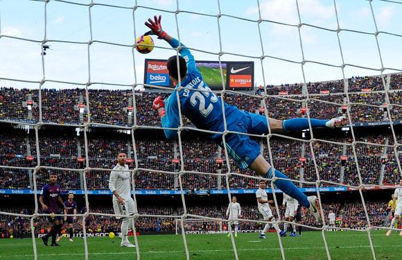 Los mejores momentos de Thibaut Courtois en el Real Madrid