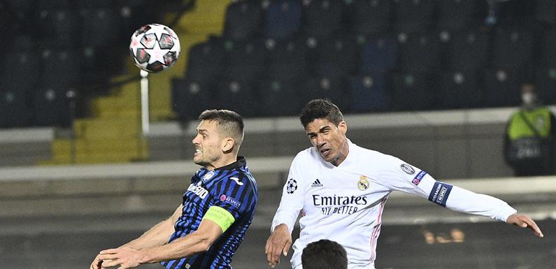 Posible Alineación del Real Madrid frente al Atalanta