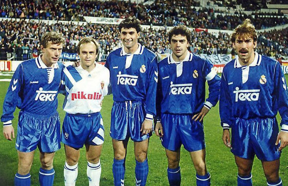 El Mejor Once Histórico de Canteranos del Real Madrid