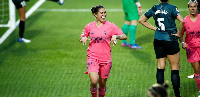 Jessica Martínez, el futuro del gol blanco