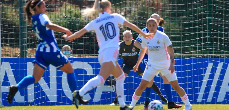 Crónica Real   Marta Cardona y Sofia Jakobsson mantienen al Madrid en puestos Champions