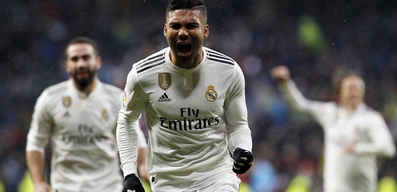Los mejores momentos de Casemiro en el Real Madrid