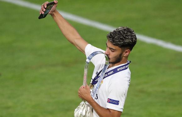 Israel Salazar, el hombre gol que tiene el Real Madrid en 'La Fábrica'