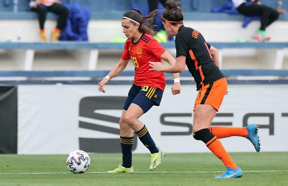 83 minutos para Cardona en la victoria de España ante Holanda (1-0)