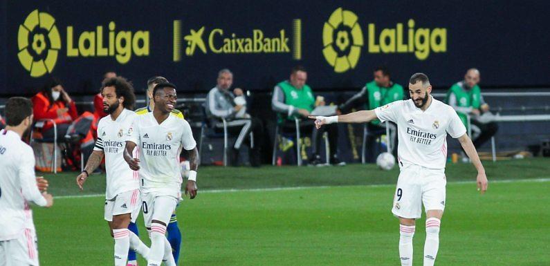 Calificaciones Blancas | Cádiz CF 0-3 Real Madrid