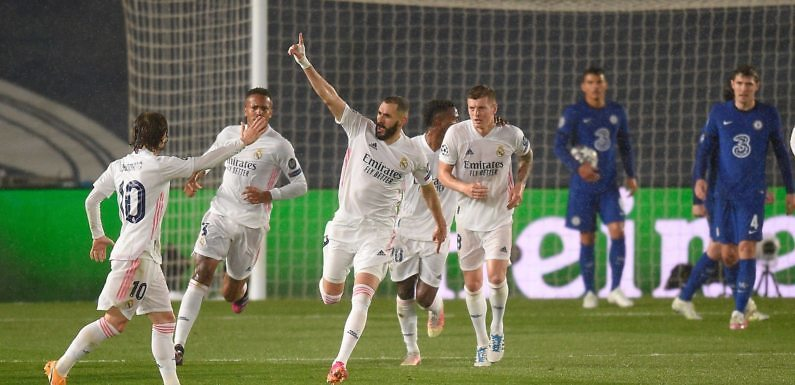 """Crónica Real   El Real Madrid sale con vida de la emboscada """"blue"""" (1-1)"""
