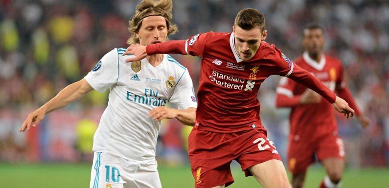 Posible Alineación del Real Madrid frente al Liverpool