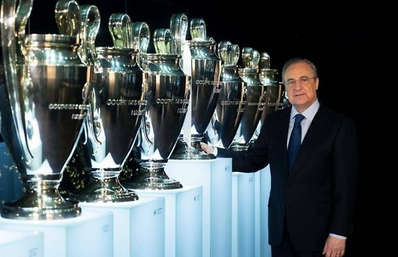 Florentino Pérez, reelegido presidente del Real Madrid por cuarta vez consecutiva